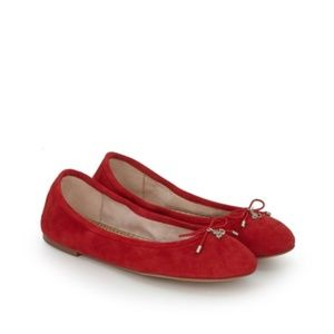 Red Sam Edelman Felicia Ballet Flat